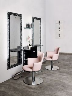 Hairdresser interior design in bytom poland - archi group. Beauty Bar Salon, Beauty Salon Design, Hair And Beauty Salon, Spa Interior, Beauty Salon Interior, Interior Design, Home Hair Salons, Home Salon, Study Room Design