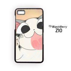Cute Cat Glass for Blackberry Z10/Blackberry Q10 Phonecases