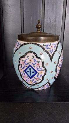Antiques Victorian Biscuit Jar