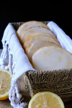 Lemon Glazed Cookies #lemon #recipe