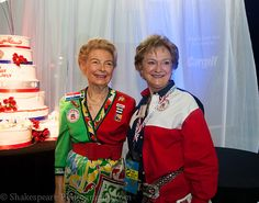 Phyllis Schlafly and Cathie Adams.