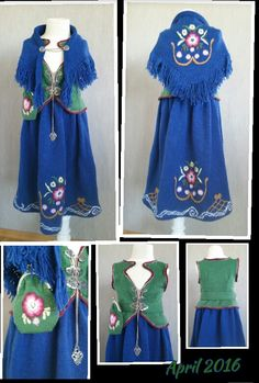 Karmøy bunad strikket Traditional Outfits, Norway, Scandinavian, Island, Summer Dresses, Fashion, Moda, Summer Sundresses, Fashion Styles