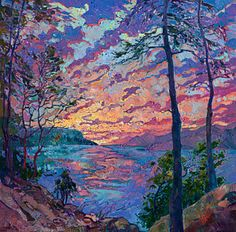 Painting - Discovery by Erin Hanson