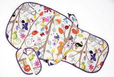 Kinderwagenbezüge - 4tlg. Polsterset für Bugaboo - 100% Baumwolle - ein Designerstück von by-Stilart bei DaWanda