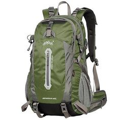 0bb9444476842 WATERFLY 40L Professional Waterproof Outdoor Sports Climbing Backpack Bag  Cover