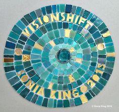 VisionShift mosaic installation by Sonia King Mosaic Artist