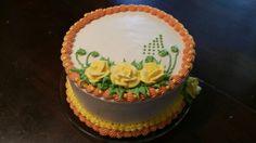 Thanksgiving White Velvet Cake