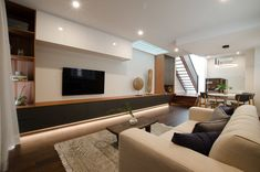 selected projects — Dieppe Design - North Shore Architect & Interior Designer Living Room Shelves, North Shore, Designer, Shelving, Interior Design, Projects, Shelves, Nest Design, Log Projects