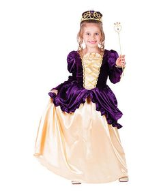 Loving this Purple Ball Gown Dress-Up Set - Toddler & Girls on #zulily! #zulilyfinds