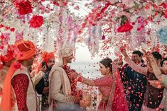 A Simple And Elegant Destination Wedding In Goa With Gorgeous Decor Elements! Check out photos, ideas & stories shared by Bride & Groom. Wedding Story, Goa, Different, Wedding Pictures, Bride Groom, Love Story, Destination Wedding, Sequin Skirt, Wedding Inspiration