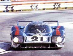 Porsche 917 at Le Mans 1971