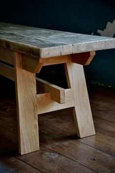 Reclaimed Wood Bench Farmhouse Rustic Reclaimed Scaffold Wood and Oak Bench Rustic Scaffold Board Furniture Bespoke Dining Entryway Bench - woodworkingbench