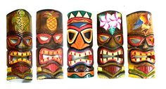 Best price on SET OF 5 HAND CARVED POLYNESIAN HAWAIIAN TIKI STYLE MASKS 12 IN TALL turtle pineapple colorful flower parrot // See details here: http://besthomesreport.com/product/set-of-5-hand-carved-polynesian-hawaiian-tiki-style-masks-12-in-tall-turtle-pineapple-colorful-flower-parrot/ // Truly a bargain for the inexpensive SET OF 5 HAND CARVED POLYNESIAN HAWAIIAN TIKI STYLE MASKS 12 IN TALL turtle pineapple colorful flower parrot // Check out at this low cost item, read buyers' comments…