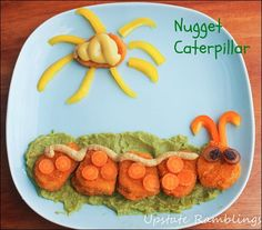 Celebrate spring with this #SpringTimeNuggets Caterpillar from Anne at Upstate Ramblings! #cbias #ad