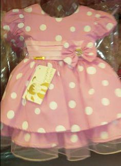 Vestido Minnie Rosa REF: MB71275