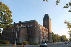 Joensuu City Hall which also functions as the Joensuu City Theatre