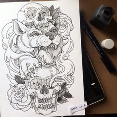 #watercolour #tattooartist #artist #lovely #draw #drawing #sketch #tattoo #tattoos #tattooartist #tatuaje #dibujo #pictureoftheday #pictures #picofday #watercolor #art #arte #love #loveit #tattooed #wolf