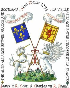 """October the alliance between Scotland and France began. the """"Auld Alliance"""". French Castles, Scottish Castles, Mary Of Guise, Margaret Tudor, Northern England, My Heritage, Coat Of Arms, Historian, Scotland"""