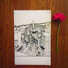 NYC Memory by FollowedbyFlowers on Etsy https://www.etsy.com/listing/231208754/nyc-memory