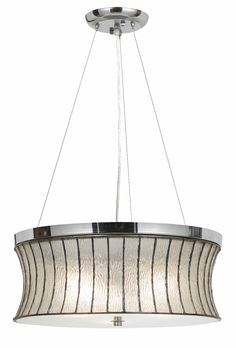modern chrome bell crystal glass metal drum pendant light fixture chandelier 19 wide chandeliers pendants wayfair drum lighting