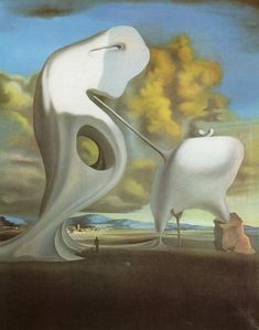 Salvador Dali  The Architectural Angelus of Millet, 1933