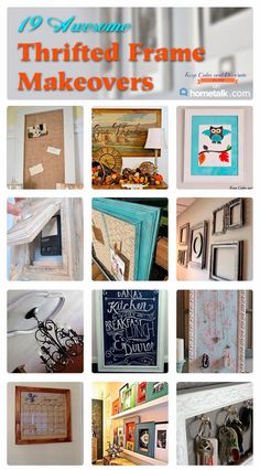 Keep Calm and Decorate: 19 Awesome Thrifted Frame Makeovers
