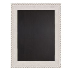 "Decorative Wood Framed Chalkboard 22"" x 28"" (Distressed White) – lightaccents.com"