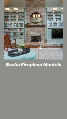 Rustic Fireplace Mantels, Redwood Burl, Natural Wood Furniture, Wood Beams, Modern Rustic, Barn Wood, Contemporary, Style, Wood Ceiling Beams