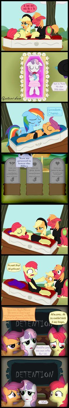 Cutie Coffin Crusaders - Idea by Rated Ponystar by Gutovi-kun on DeviantArt