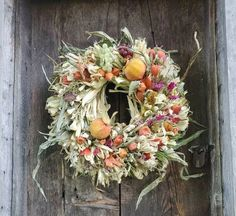 This wreath has been made entirely from locally harvested corn husk, with all of its imperfections and organic goodness.