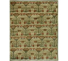 Orley Shabahang Design #F511-3062. Wool. 8'x10' or custom sizes made to order.