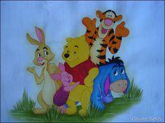 Fralda do Pooh