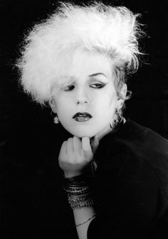 Goth 1980s fashion. Derived from literary and art versions of characters in gothic novels and stories, were vampires wore black gowns and accessories.