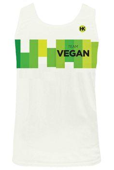 Team Vegan 17 Women's Running Singlet
