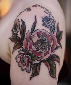 Kirsten Holliday, Wonderland, Portland OR - peony, anemone, lilac, lily of the valley