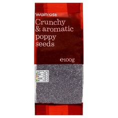 Poppy Seeds Waitrose