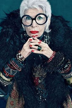 5 Things Iris Apfel Taught Us About Style (and Life) #purewow