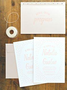 "Wedding stationary, design theme ""Cirkus"" by Pretty Paper"