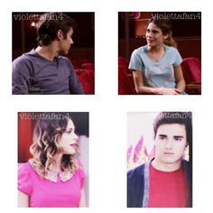 """First two pictures: Vilu asks León about Lara and León tells her that they broke up!!! YAY!!! :D ❤ Last two pictures: Vilu sings """"Nuestro camino"""" to León! ❤"""