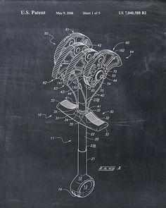 Rock Climbing Cam Patent Print  Patent Art Print  by VisualDesign