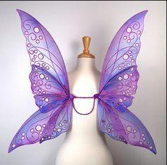 Tutorial Asa de Fada [fairy wing tutorial]   .