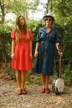 112 vintage dresses.