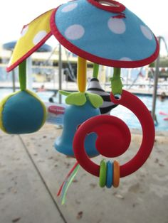 Tiny Love Starry Night Mobile & Pack 'n Go Mini Mobile Stroller Toy Review & Giveaway