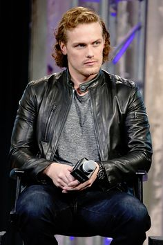 Sam Heughan | Aol Build Event | New York April 7, 2016