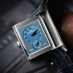 The @bexsonn's classy Jaeger LeCoultre Reverso Ultra Thin Duoface #JaegerLeCoultre #SwissWatches