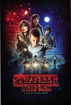 An awesome poster of art featuring the cast from the hit TV series Stranger Things! Ships fast. 24x36 inches. Need Poster Mounts..? pw51891F