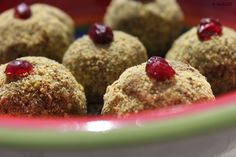 no-bake middle-eastern sweets for a cooking workshop
