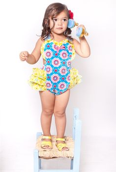 Jelly the Pug - Up Up Away Heart Romper **PRE-ORDER**