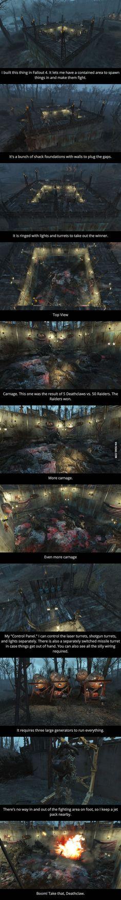 Fallout 4 Arena