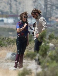Bradley Cooper & Lady Gaga hit the set of 'A Star Is Born'  http://celebsip.com/bradley-cooper-lady-gaga-hit-the-set-of-a-star-is-born/